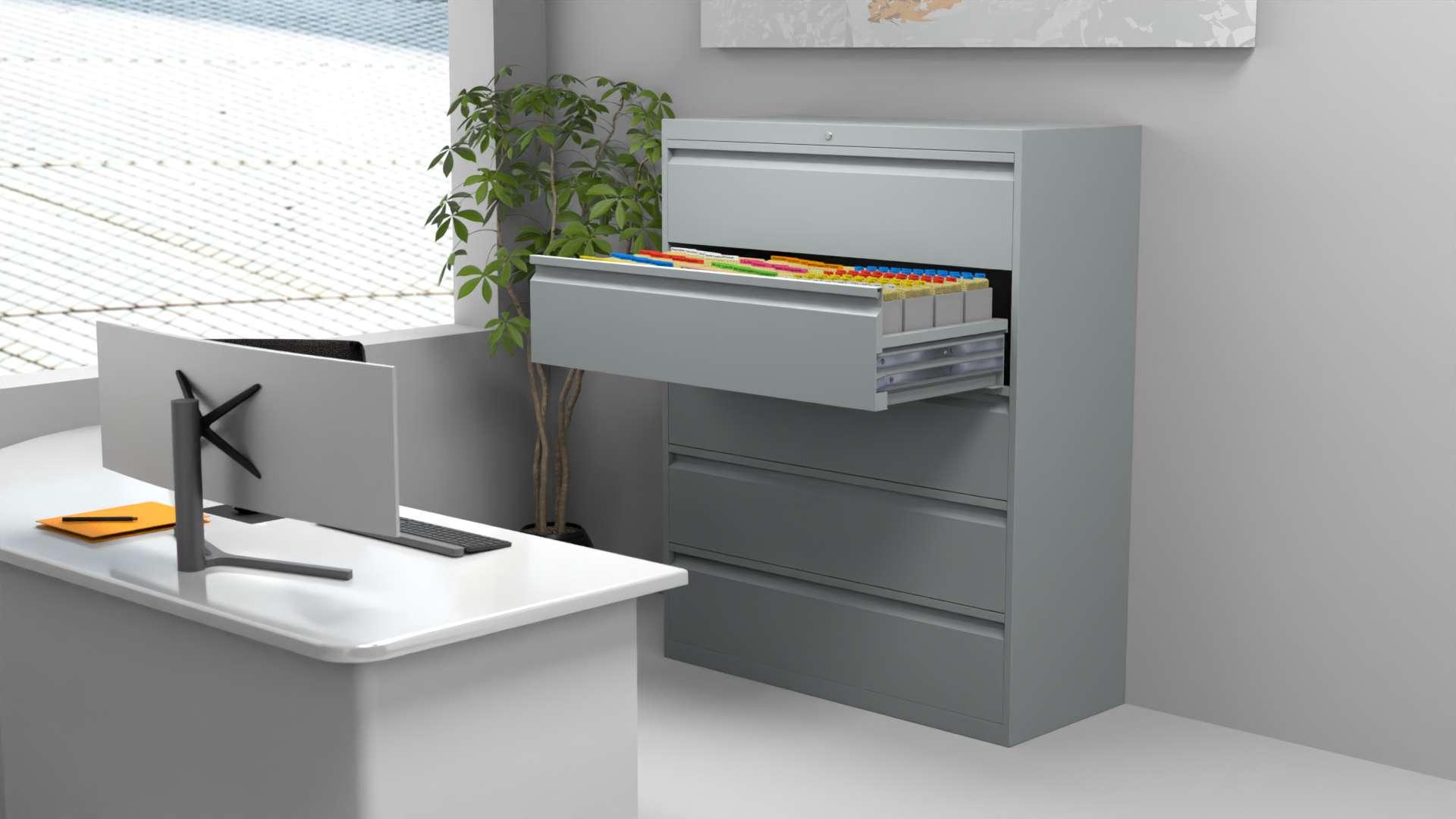 Der Classata Schrank im Büro.