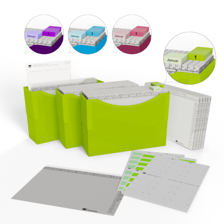 Mit der neuen HomeOffice-Edition bringt Classei frische Farben in den Büroalltag zu Hause.