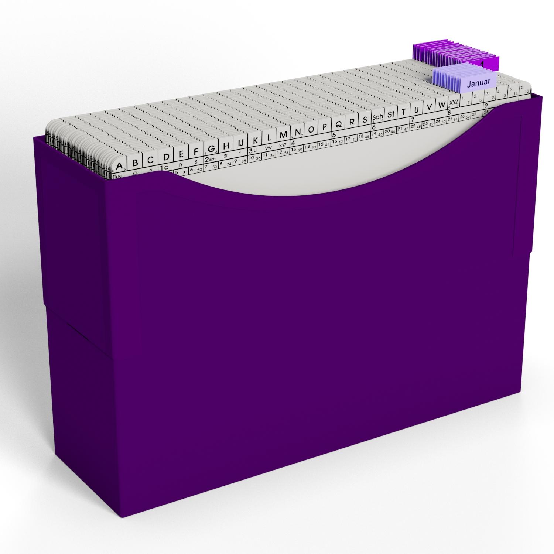 HomeOffice Beispiel Termin Purple Violett