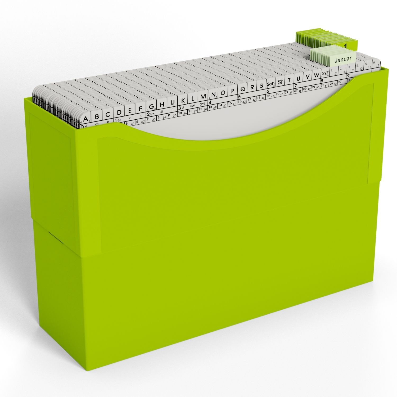 HomeOffice Beispiel Termin Lime Green